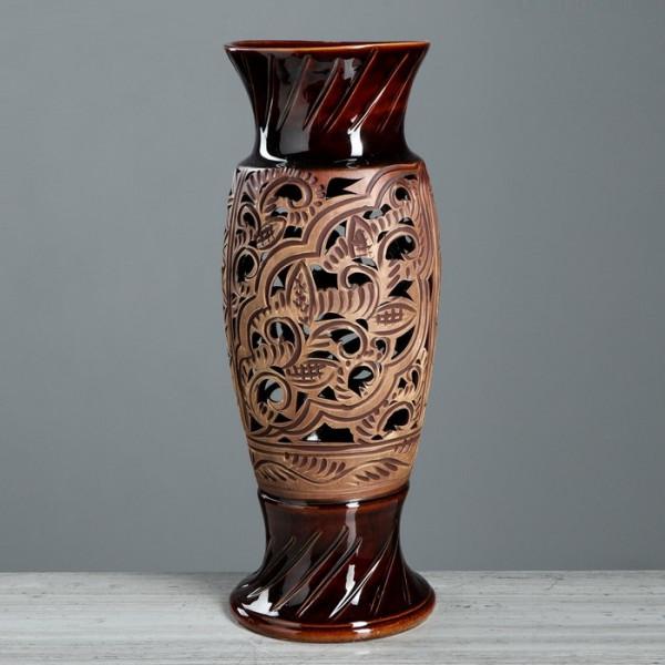 ваза напольн. 57см ВЕНЕЦИЯ ажур, микс ( 91364 )