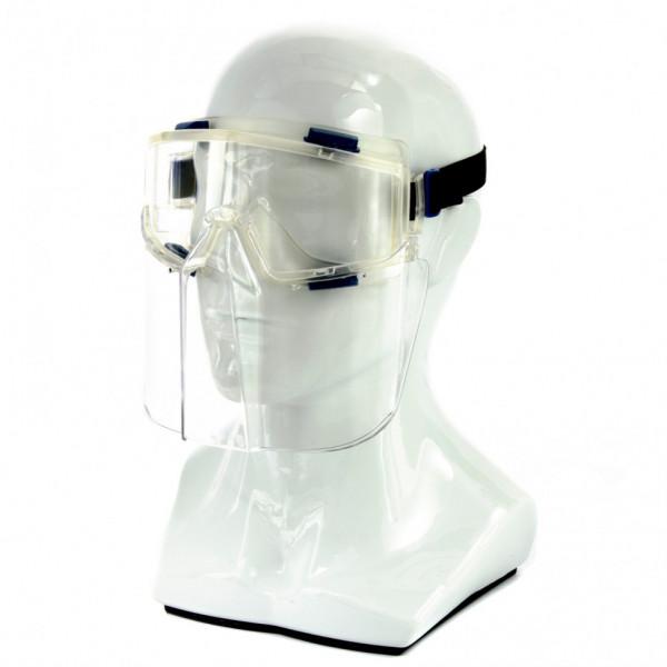 очки СИБРТЕХ _Панорама_ защитные со щитком 89167( 91549 )