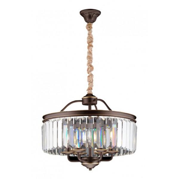 люстра 8613/6A CFG+GD+CL Veneto Luce (лампы в компл.)( 91736 )
