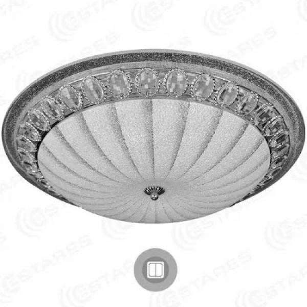 светил LED ESTARES MAROCCO 72W (6120lm) 510x150 б/пульта хром( 91770 )