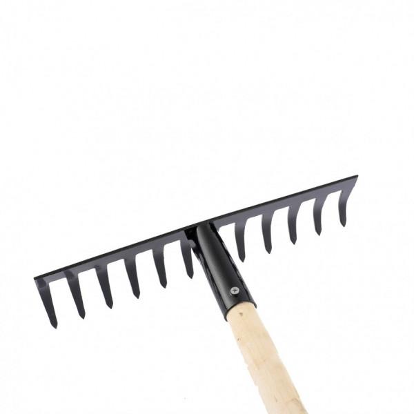 грабли 12-зуб 300мм с/черенком прямые СИБРТЕХ  61741( 91873 )
