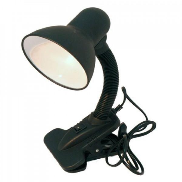 лампа наст UNIEL TLI-204 черный 02162*( 92118 )