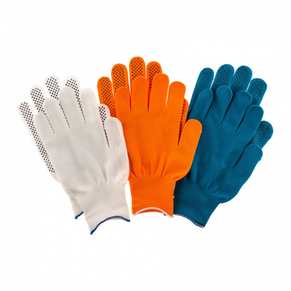 перчатки PALISAD (набор 3пары) ПВХ точка XL  67853( 92299 )