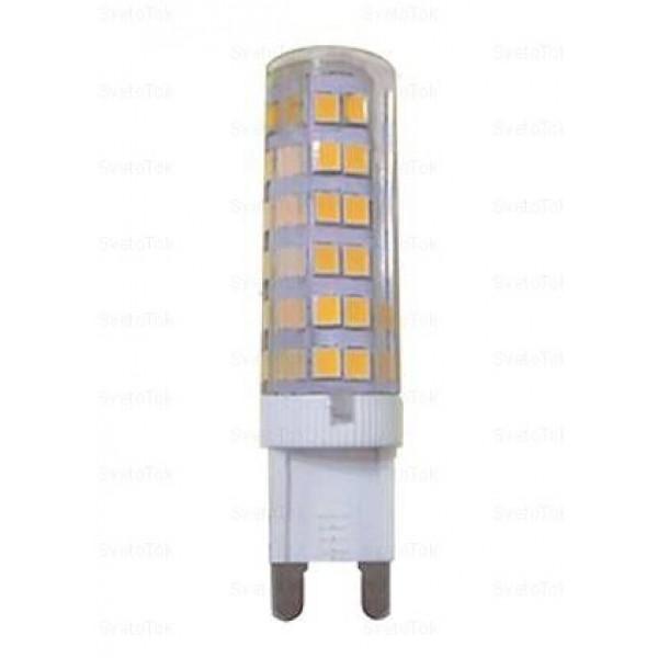 лампа LED ECOLA G9 7W 4200K 60х16 696555*( 92591 )