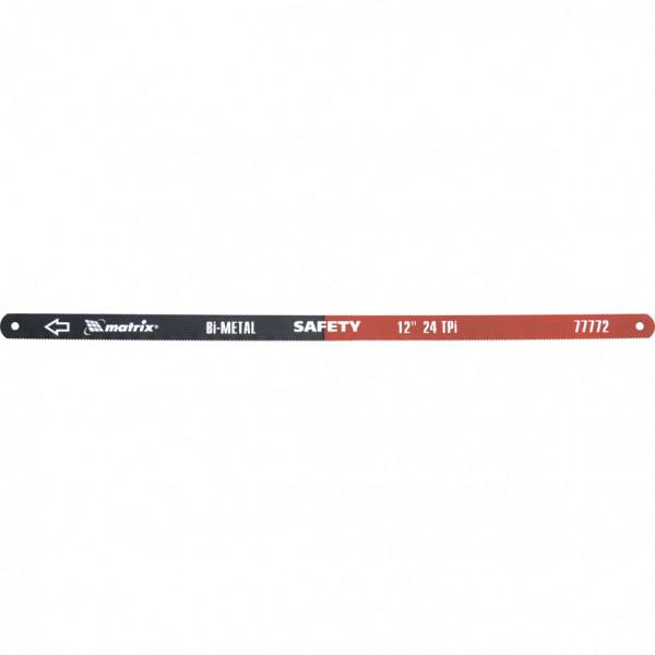 полотна д/ножовки MATRIX по мет 300мм, 24TPI, биметал (2шт) 77772( 92634 )