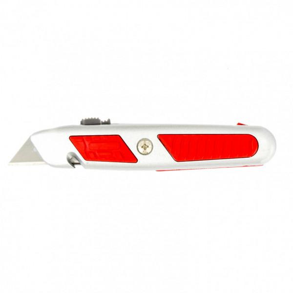 нож MATRIX 18мм выдвиж. трапец. лезвие MASTER 78967( 92685 )