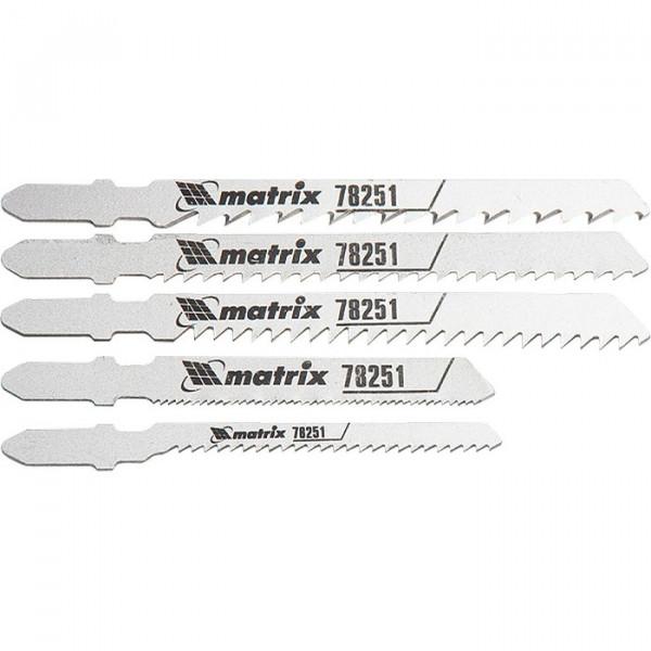 набор полотен MATRIX д/лобзика универсал Professional 5шт 78251( 92708 )