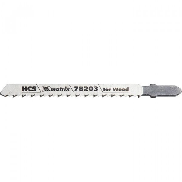 набор полотен MATRIX д/лобзика по дереву Professional T101BR 3шт 78203( 92710 )