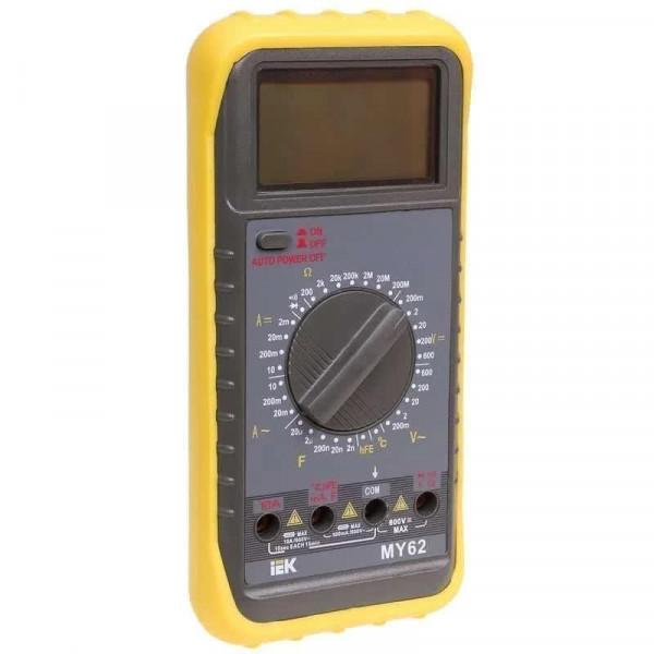 мультиметр ИЭК цифровой Professional MY62I*( 92755 )