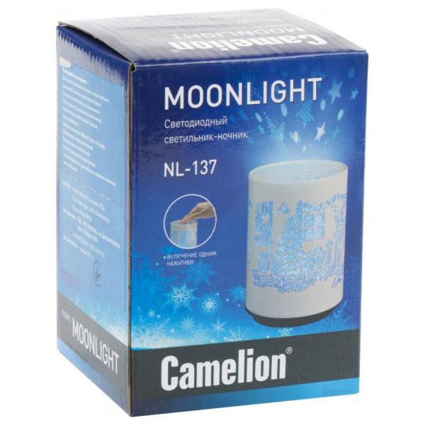 ночник с/д CAMELION NL-137 Камин 11817( 92946 )