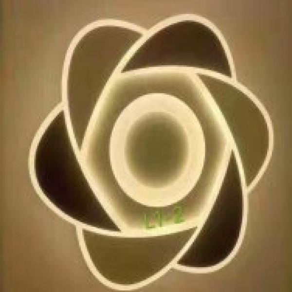 люстра 2375/570 WHITE+COFFEE LED эконом( 93259 )