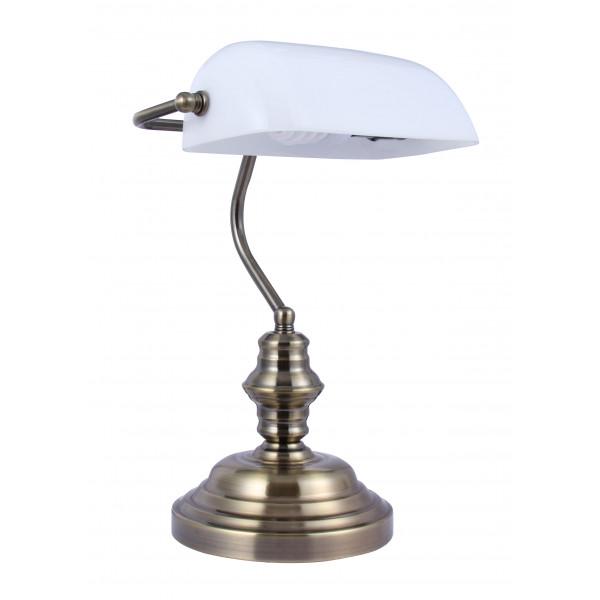 лампа наст HN2087 AB+GN Veneto Luce*( 93350 )