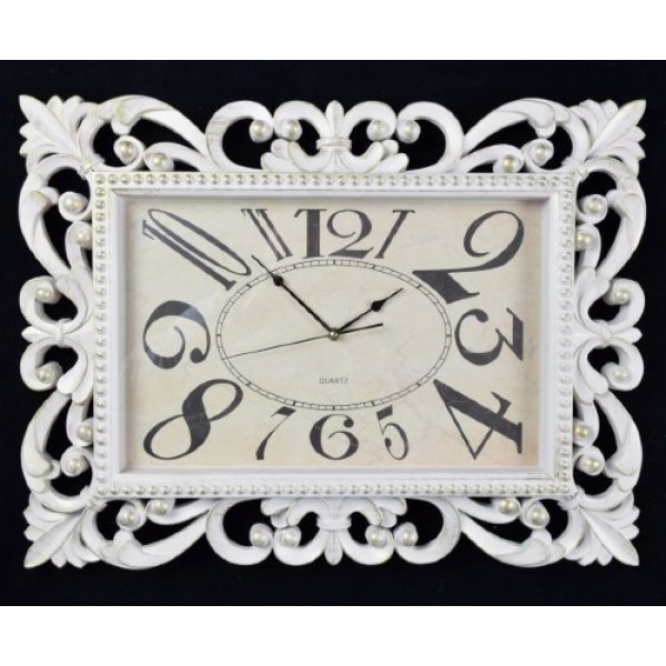 часы настен. 2850-02А-XYM (61*46,3*5,3см) крем( 93459 )