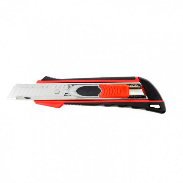 нож MATRIX 18мм выдвиж. лезвие двойная фикс. 78936( 93571 )