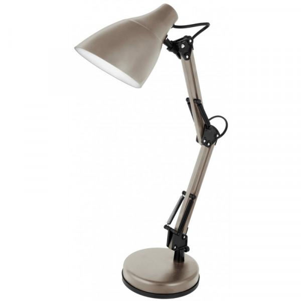 лампа наст CAMELION KD-331 C26 тауп 13873( 93625 )