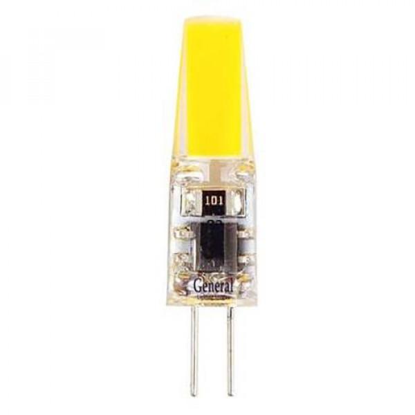 лампа LED GENERAL 3W G4 220V 4500K COB 651900*( 93632 )