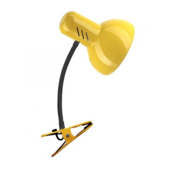 лампа-прищеп ТРАНСВИТ НТ 2077С Е27 60W металл/желт*( 93689 )