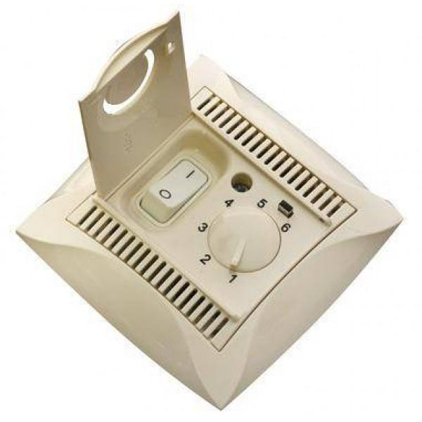 терморегулятор Schnider ДУЭТ 10А WDE000238 (электр) крем*( 9566 )