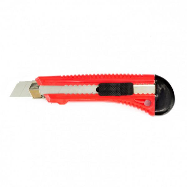 нож MATRIX 18мм выдв.лезвие, металл направл. 78918( 9717 )
